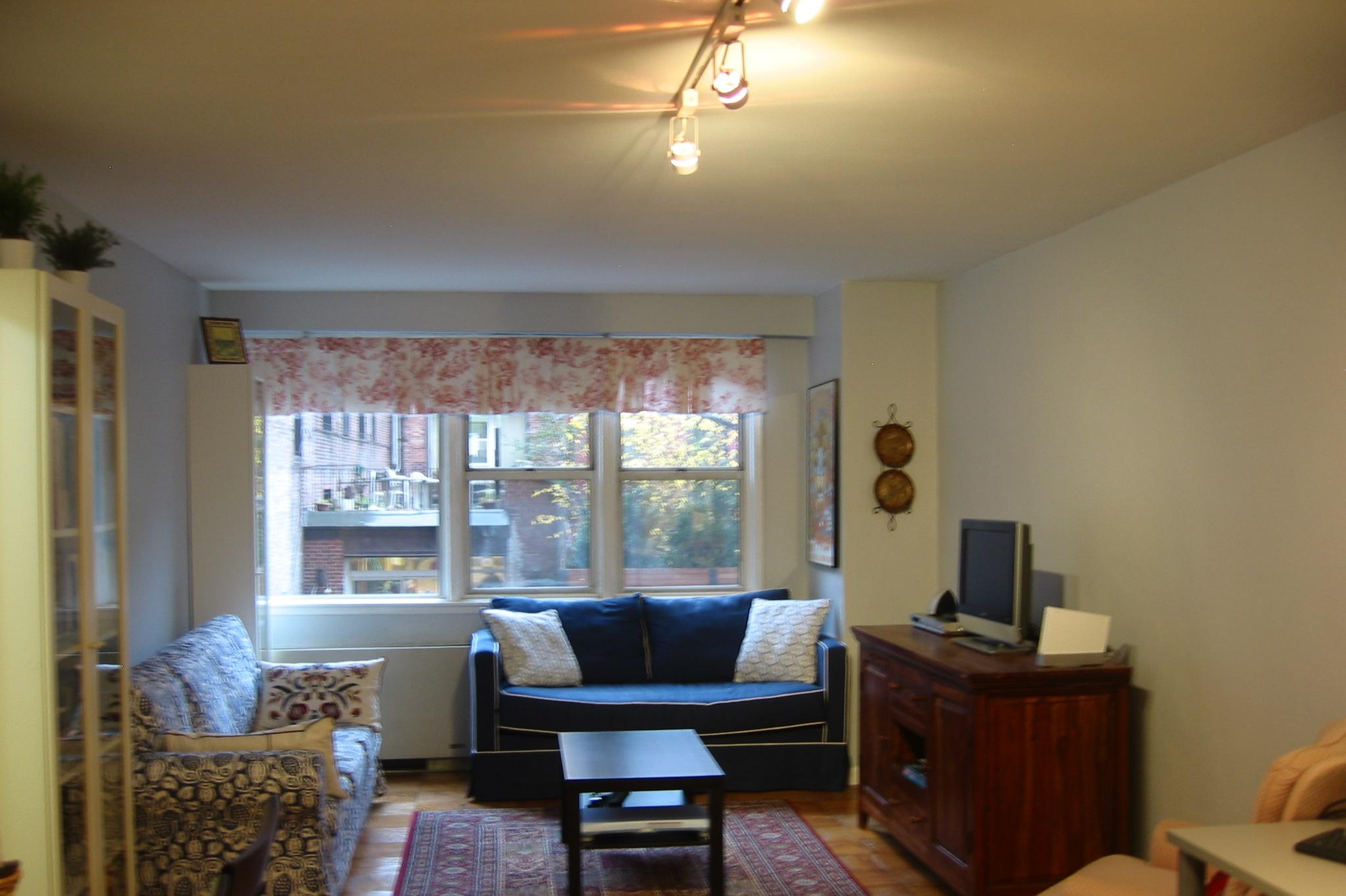 A great starter apartment in brooklyn heights vs a rental for Living room vs great room